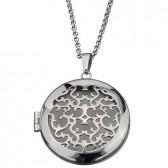 Photo locket pendant stainless steel