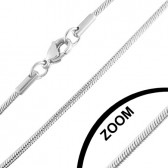 Stainless steel necklace 60 cm