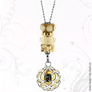 Pregnancy necklace limited edition - Precious gold