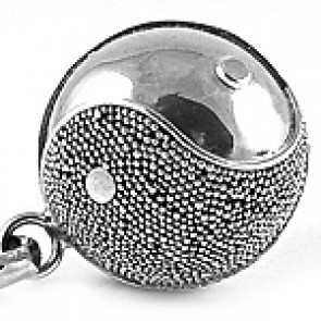 Bola pregnancy chime silver yin-yang