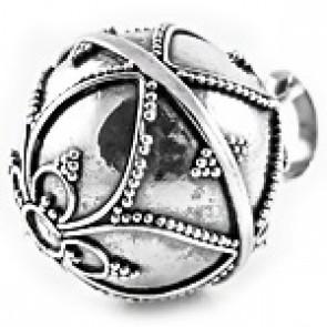 Bola pregnancy pendant silver