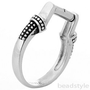 Switch click ring interchangeable bead ring