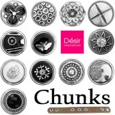 * Cheap Chunks snap button charms fits Noosa bracelets and belts