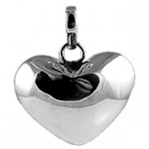 Bola pregnancy ball silver heart