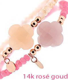 rosegoud armbanden, rose goud sieraden
