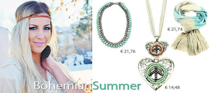 bohemian armbanden, bohemian sieraden, bohemian kettingen