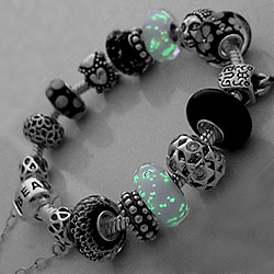 beadstyle glow in the dark kralen beads voor pandora