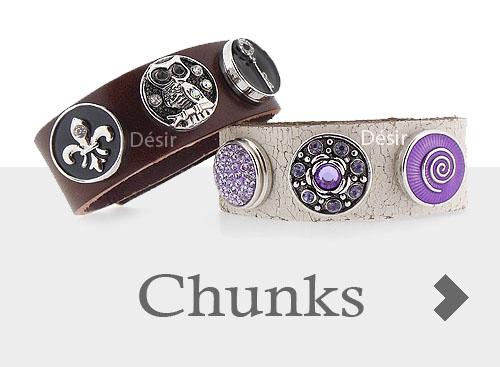 goedkope Chunks, clicks, drukkers voor noosa armbanden