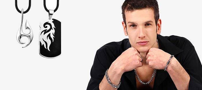 Men's jewelry made from stainless steel online shop